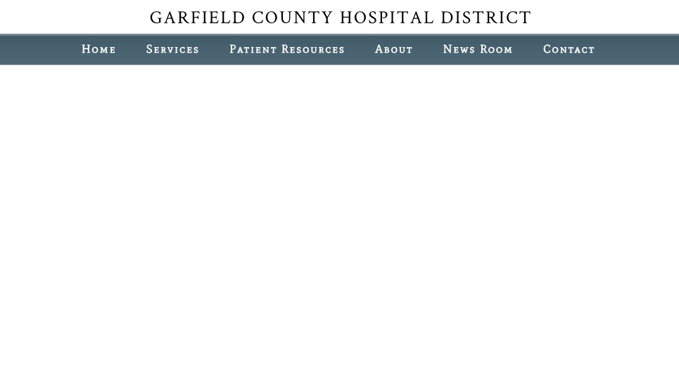 Garfield County Public Hospital District No.1